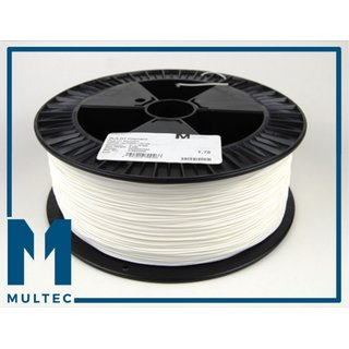Multec PLA Filament 750g, 1,75mm, white