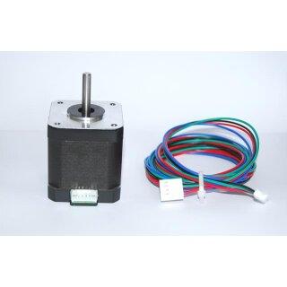 Schrittmotor Nema 17HS19- 1684S1 mit Steckeranschluß und 1,85mtr. Kabel mit Molex-Stecker
