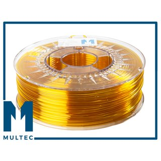 MULTEC© PETG Filament  | Ø 2,85 mm | 1000g | gelb transparent
