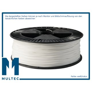 MULTEC©  PLA-HT Filament   hochtemperaturbeständig   Ø 1,75   3000 g   weiss/natur