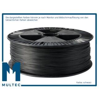 MULTEC©  PLA-HT Filament   hochtemperaturbeständig   Ø 1,75   1000 g   schwarz