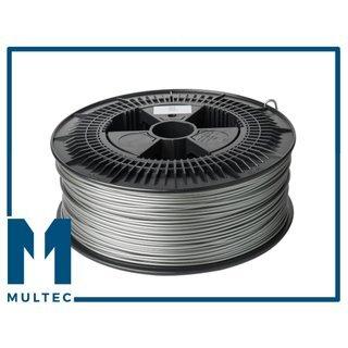 MULTEC© PLA Filament | Ø 1,75 | 3000g | silber/grau