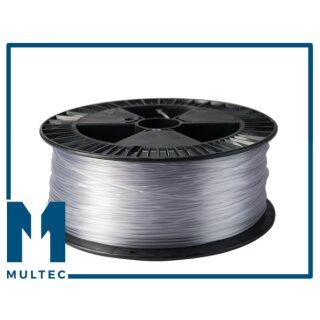 MULTEC© PETG Filament  | Ø 2,85 mm | 1000g | blau transparent
