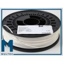 Multec PLA Filament 750g, 3mm, white