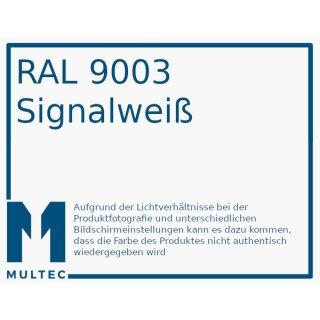 PLA Soft 120 Filament | Ø 2,85 mm | 1000g | Mischung 100/20 | signalweiß