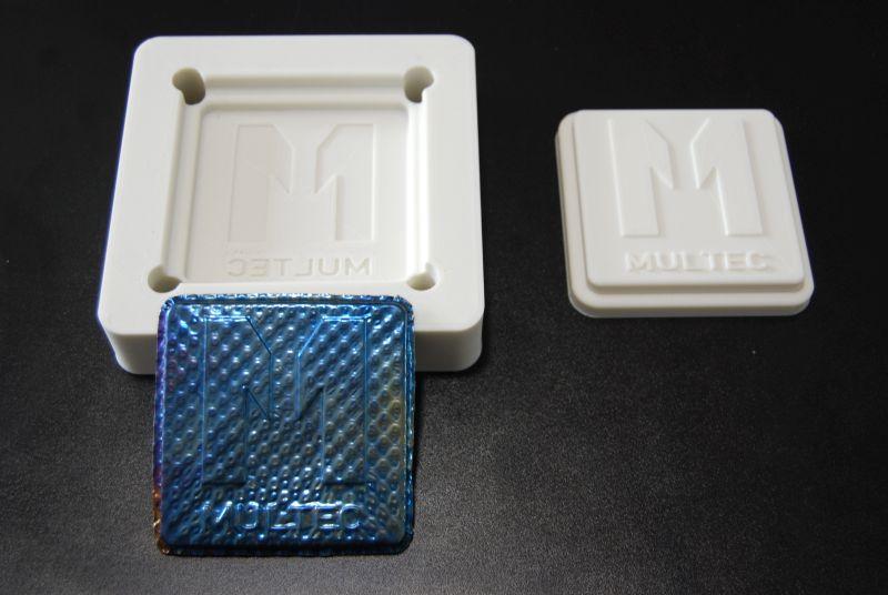 Prägeform für Metall - 10 Tonnen Belastung idealer Einsatzfall für Multec PLA-HT